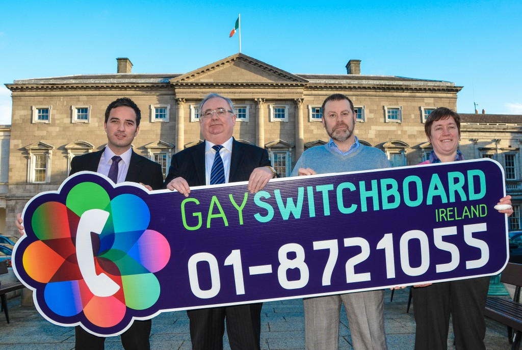 Ireland's Oldest LGBT Support Service, Gay Switchboard 40th year