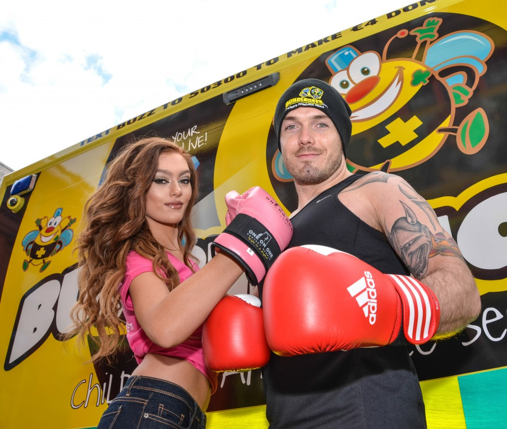 Bumble Box White Collar Boxing Event in aid of BUMBLEance part o